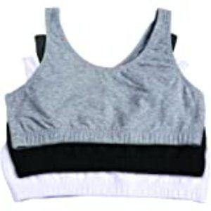 Other - Big Girls' Cotton Built-Up Sport Bra